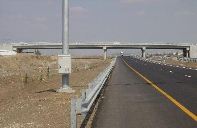 Cross Israel Highway (National highway no. 6)
