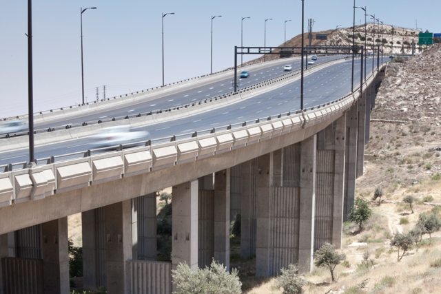 Jerusalem, Regional Highway No. 1 North - Bridge