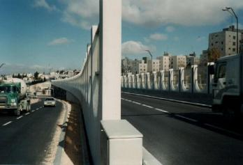 Jerusalem, Regional highway No. 1 East - Bridges